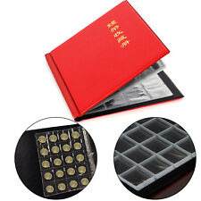 200 Collection Storage Penny Pockets Money Album Book Coin Collecting Holders
