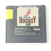 NHLPA Hockey '93 (Sega Genesis, 1992) Cartridge Only