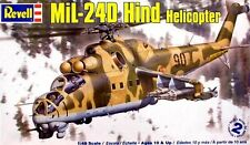 Revell 1/48 MiL-24 Hind Helicopter Plastic Model Kit 85-5856