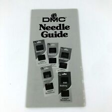DMC Needle Guide Vtg 1990 Embroidery Quilting Darners Tapestry Chenille Crewl