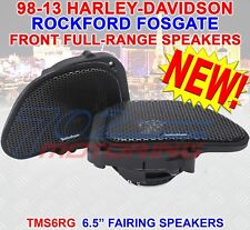 "ROCKFORD FOSGATE TMS6RG 6.5"" FULL-RANGE SPEAKERS FOR HARLEY DAVIDSON ROAD GLIDE"