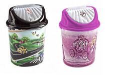 1.7L BRANDED KIDS WASTE RUBBISH PLASTIC BIN CHILDREN BEDROOM PLAYROOM DUSTBIN