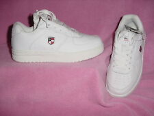 CHILDRENS All White Leather Tennie by US POLO ASSOCIATION   1.5M       NEW