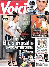 VOICI N° 1504--JENIFER & AMBROISE/LILY ALLEN/CAMILLE COMBAL & HANOUNA