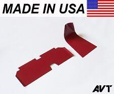 AVT Air Intake Upper/Lower Scoop Set e46 BMW M3 01-06 <Red>