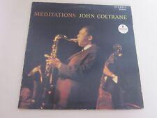 JOHN COLTRANE ...MEDITATIONS ..33 TOURS ..IMPULSE  A. 9110
