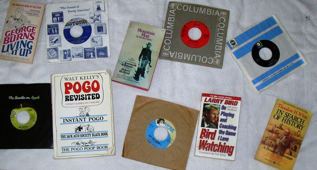 Records and Books by Van