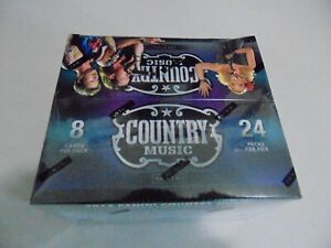TRADING CARDS SEALED BOX SET COUNTRY MUSIC 2014 PANINI 192 SOME SIGNATURES, ETC