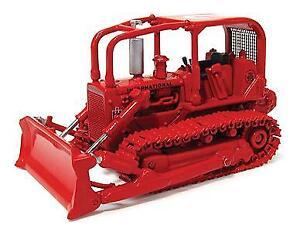 First Gear 800313 Die-Cast 1/87 Scale International TD-15 Fire Dozer