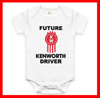RARE NEW FUTURE KENWORTH DRIVER BABY CLOTHES FUNNY BODYSUIT ROMPER. EXPLORE NOW!