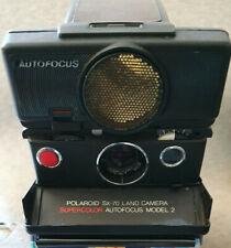 Polaroid SX 70 Sonar Autofocus Model 2 Sofortbildkamera Land Camera