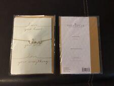 "Hallmark Signature "" Love Necklace "" Single Card  (Anniversary/Birthday)"