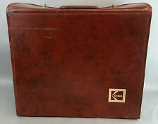 RETRO Large Kodak USA  Brown Vinyl Vintage Protector Suitcase Case