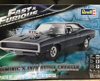 1970 Dodge Charger Fast and Furious Dom Bausatz 1:25 Model Kit Revell /& 4319