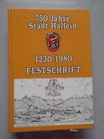 750 Jahre Stadt Hallein 1230-1980 Festschrift Salzburg