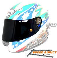 SUOMY Spec 1R// Extreme //Apex CLEAR Bob Heath Motorcycle Helmet Visor BHV574a