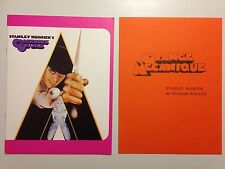 DOSSIER PRESSE ORANGE MECANIQUE // STANLEY KUBRICK