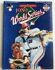 1989 Official MLB World Series Program A's vs. Blue Jay's