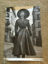 GORDON PARKS Sylvie Hirsch PHOTO ART POSTER DIOR DRESS FRANCE Art Basel 15 Promo