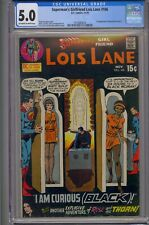 SUPERMAN'S GIRLFRIEND LOIS LANE #106 CGC 5.0 2ND APP ROSE AND THE THORN
