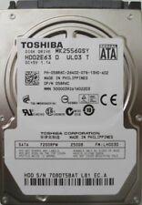 "Toshiba MK2556GSY 058R6C 250Gb 2.5"" Laptop SATA Hard Drive"