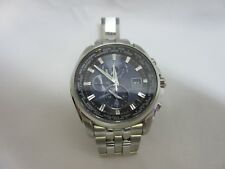 Citizen Eco-drive At9030-80l Men's 44mm World Time Atomic Watch.100% Genuine