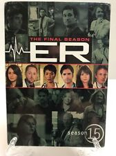 New Sealed ER: The Final Season - Season 15 (DVD, 2011, 5-Disc Set)