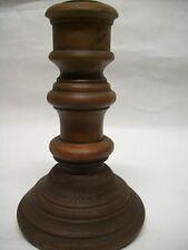 Kerzenständer Hübsch shabby Kerzenhalter braun Stabkerzen Holz 15 cm Dänemark