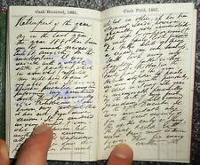 1881 HANDWRITTEN MANUSCRIPT DIARY OF A MAGISTRATE & POLITICIAN, J HAYES OF LEIGH