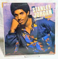 Stanley Jordan Signed Autographed Album A