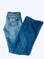 Citizens of Humanity Jeans Womens Size 27 Stretch Low Waist Flair Ingrid #002