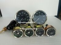 Smiths-52mm-Kit- Temp-Oil Fuel Volt Gauge Kmph Speedometer Tachometer-Replica