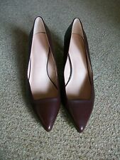 Ruby Leather Court Shoes with Insolia, Size 8, Marks & Spencer, BNWT  £39.50