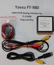 Yaesu FT-980 to FL-2100B Amplifier keying relay buffer interface cable FL-2000B