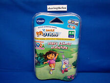 VTech V.Smile V-Motion NICKELODEON: DORA THE EXPLORER FIX-IT ADVENTURE Game NEW
