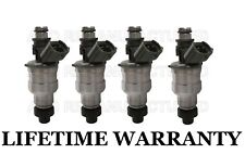 Genuine Denso  4x Fuel Injectors for Mazda Protege 323 MX-3 Kia Sephia 1.6L 1.8L