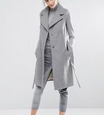 Wool Blend Casual Winter Military Coats & Jackets for Women