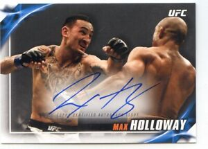 2019 TOPPS UFC KNOCKOUT AUTO AUTOGRAPH MAX HOLLOWAY #/60