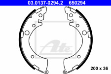 Rear Brake Shoe Set Honda:CIVIC VI 6,ACCORD III 3,V 5,VII 7,HR-V,LOGO