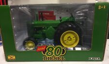 ERTL John Deere Model 80 Diesel Tractor High Detail 1/16 NIB