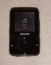 Philips GoGear Vibe (4GB) Digital Media MP3 Player Black. Works great, good cond