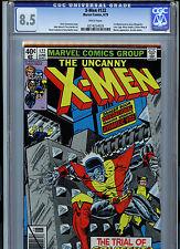 Uncanny X-Men #122 CGC 8.5 VF+ 1979 Marvel 1st Jason Wyngarde Mastermind K21