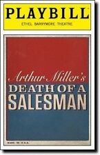 Playbill Death of a Salesman Philip Seymour Hoffman Andrew Garfield Linda Emond