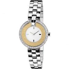 Orologio Donna BREIL BREILOGY TW1444 Bracciale Acciaio Gold Dorato Swarovski NEW