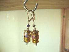 Drop/Dangle Natural Yellow Gold Filled Costume Earrings