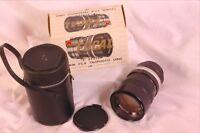 Focal 135mm 2.8 T mount lens vintage exotica with screw mount &case
