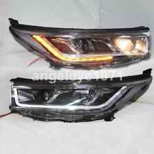 2014-2016 Year Front Lamps For TOYOTA Highlander Kluger LED strip Headlights PW