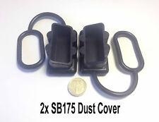 PAIR ANDERSON PLUG DUST COVER END CAP SUITABLE FOR SB175AMP -BLACK