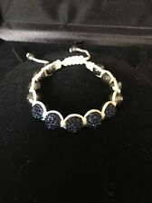 Lucky Bracelet Store Display  Blue & Siver Bids Small Size