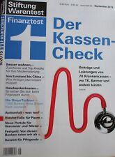 - Stiftung Warentest Finanztest - 9 2015 - Kassen Check - Wohnen Anleger Riester